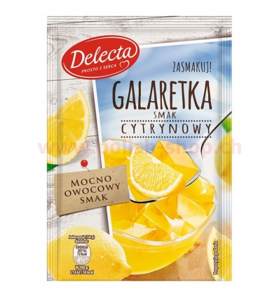 Lemon jelly Delecta 75g