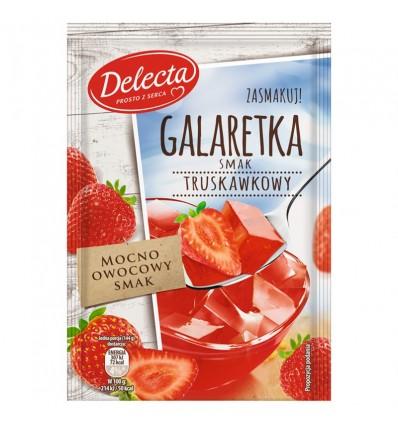 Delecta Götterspeise mit Erdbeergeschmack 75g