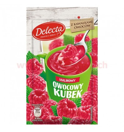 Delecta Owocowy Kubek Gelee Himbeer-Geschmack 30g