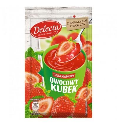 Delecta Owocowy Kubek Gelee Erdbeer-Geschmack 30g