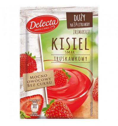 Kisiel truskawkowy Delecta 58g