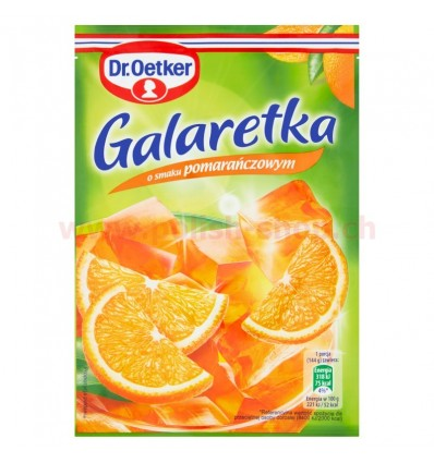 Orange jelly Dr. Oetker 77g
