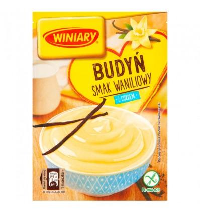 Winiary Pudding Vanille-Geschmack mit Zucker 60g
