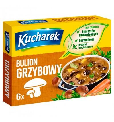 Mushroom broth seasoning Kucharek 6 cubes