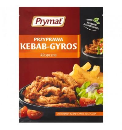 Kebab/gyros spice mix Prymat 30g