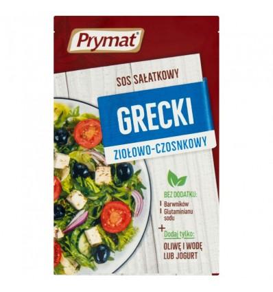 Prymat Griechisches Salatdressing Kräuter-Knoblauch 9g