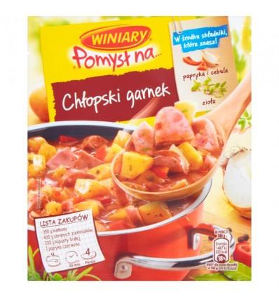 Pomysl na.. Sachet cuisson pour ragoût Chlopski garnek Winiary