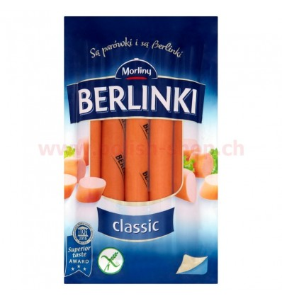 Berlinki classic sausages Morliny 250g