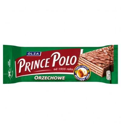 Wafel Prince Polo orzechowe 36g