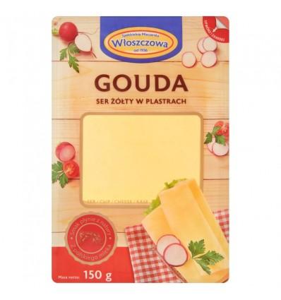 Fromage Gouda Wloszczowa 150g tranches