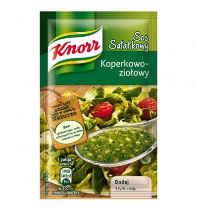 Sos sałatkowy koperkowo-ziołowy Knorr