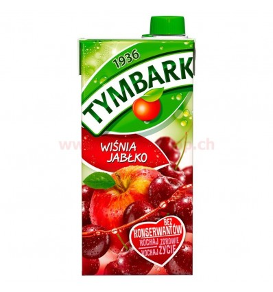 Cherry and apple drink Tymbark 1l