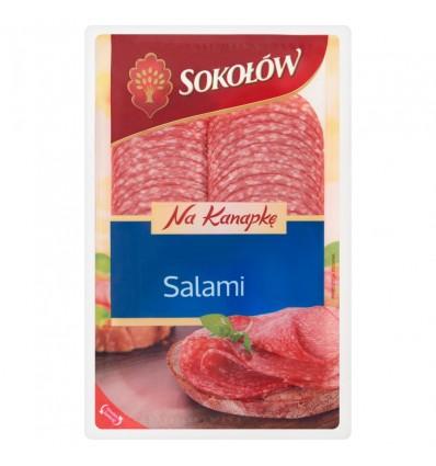 Sokolow Salami für Sandwich 100g