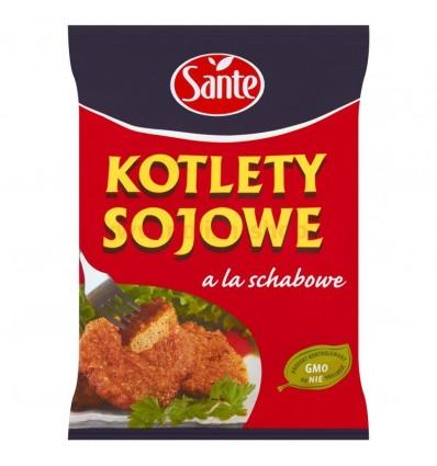 Côtelettes de soja à la côtelettes de porc Sante 100g