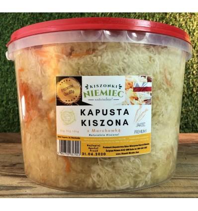 Kapusta kiszona z marchewką Niemiec wiaderko 1kg
