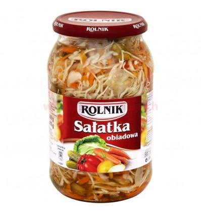Salade de légumes au vinaigre Obiadowa Rolnik 900ml