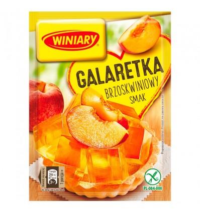 Galaretka brzoskwiniowa Winiary 71g
