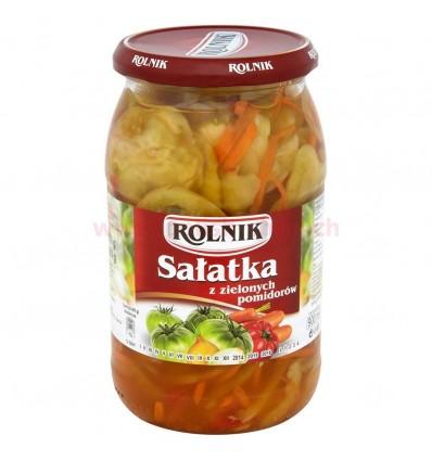 Sałatka z zielonych pomidorów Rolnik 900ml