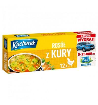 Przyprawa Rosół z kury Kucharek 12 kostek 120g