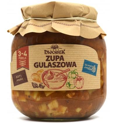 Zupa gulaszowa Dworek 680g
