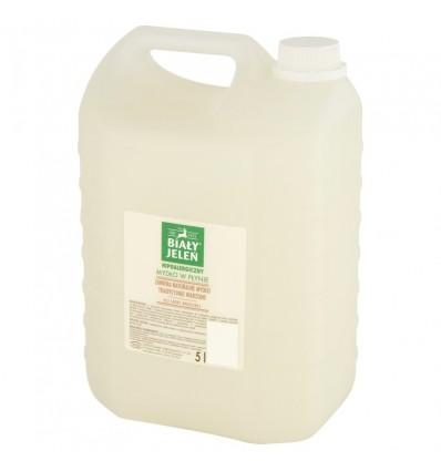 Hipoalergiczne mydło w płynie Biały Jeleń 5l