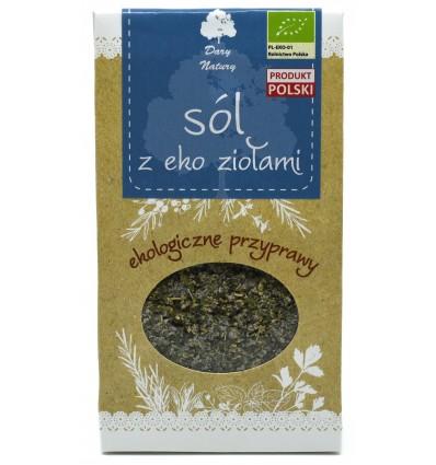 Przyprawa sól z eko ziołami Dary Natury 100g
