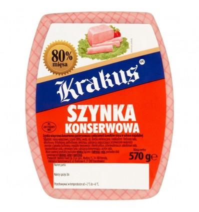 Canned ham Krakus 570g