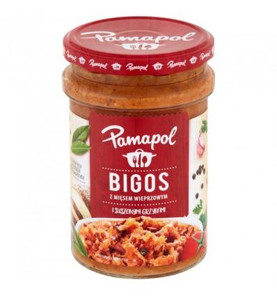Danie Bigos z mięsem wieprzowym i suszonymi grzybami Pamapol