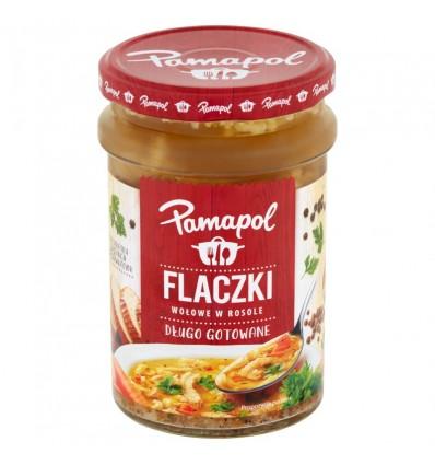 Zupa Flaczki wołowe w rosole Pamapol 500g