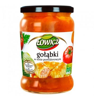 Danie Gołąbki w sosie pomidorowym Łowicz 580ml
