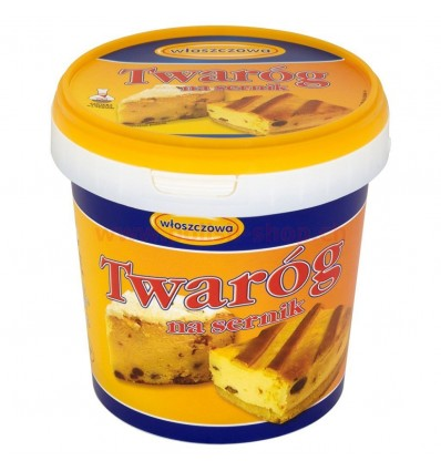 Cottage cheese for cheese cake Wloszczowa 1kg