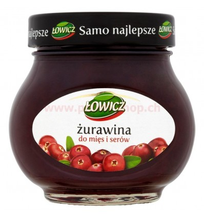 Cranberry for meat and cheese Lowicz 230g