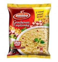 Zupa błyskawiczna Grochowa z wędzonką Amino